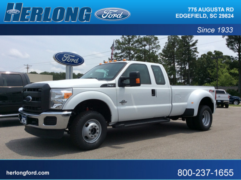 2015 Ford Super Duty F-350 DRW 4x4 SuperCab XL