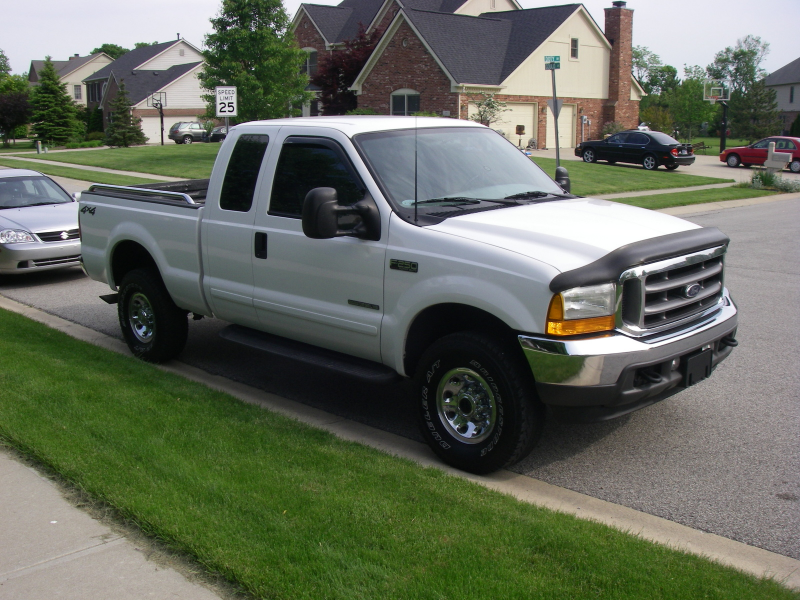 2001 Ford F-250 Super Duty XLT 4WD Extended Cab SB, 2001 Ford F-250 ...