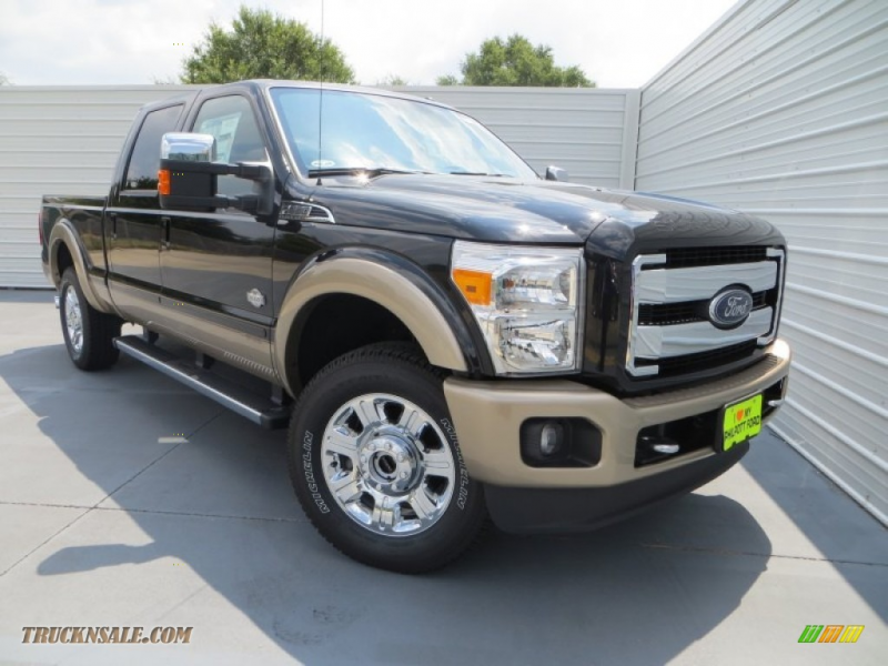 2014 F250 Super Duty King Ranch Crew Cab 4x4 - Tuxedo Black Metallic