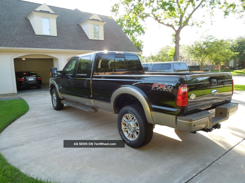 2013 Ford F350 King Ranch Truck By Owner F-350 photo 4