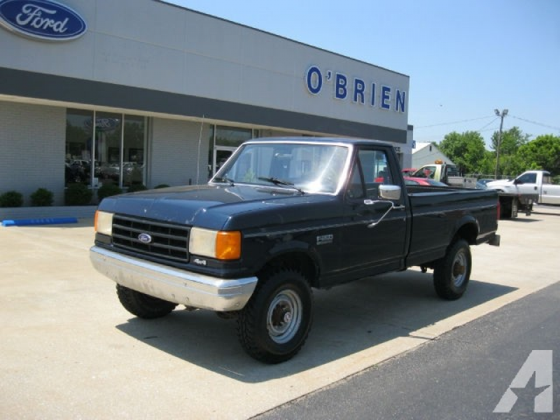 details for 1988 ford f250 custom price $ 4995 seller o brien ford ...