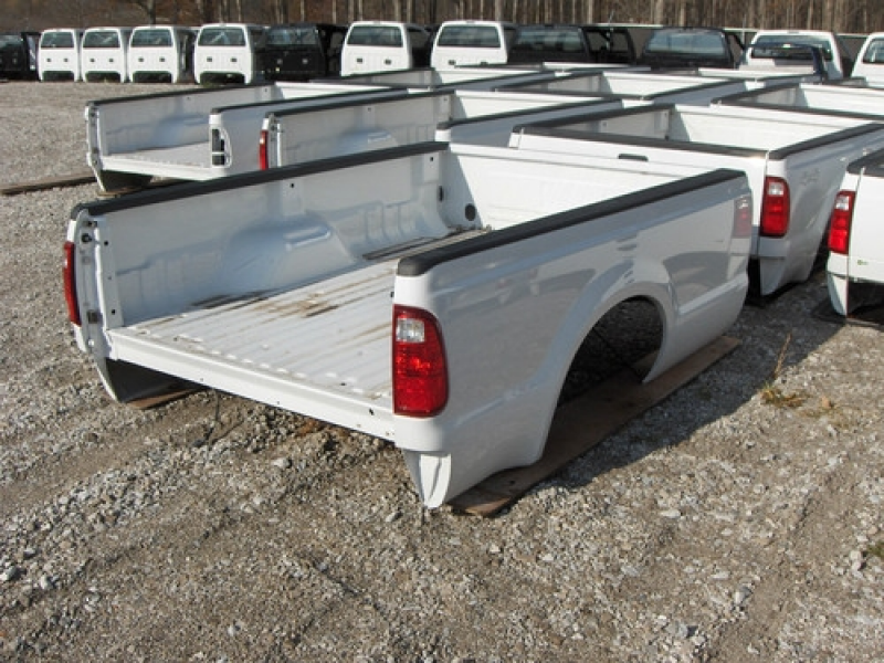 NEW TAKE-OFF*** Ford F250 F350 Super Duty Long Truck Bed White 1999 ...