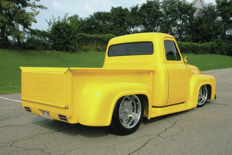 1953 Ford F 100 Rear Three Quarter