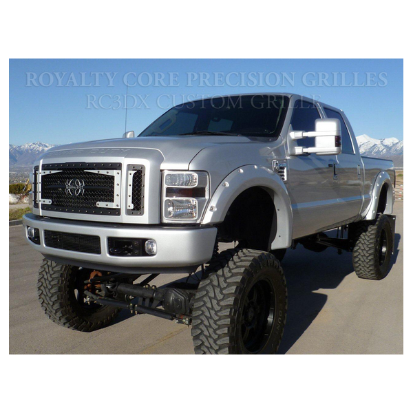 Royalty Core Ford Super Duty 2008-2010 RC3DX 3 Piece Grille