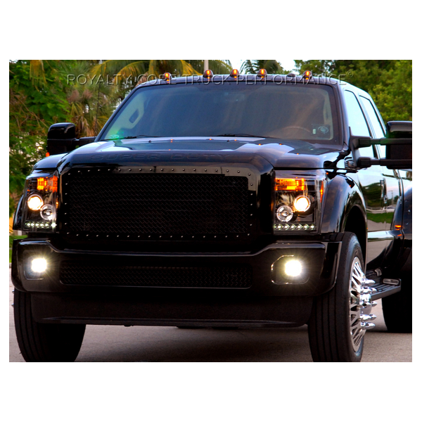 Ford Super Duty Grill Black