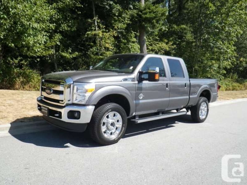 2013 Ford F350 Crew Lariat Loaded Navigation Sunroof - $62850 in ...