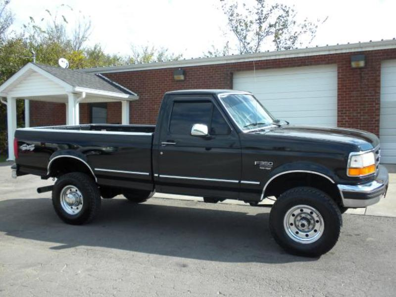 1997 ford f 350 for sale in shelbyville tn black exterior gray ...