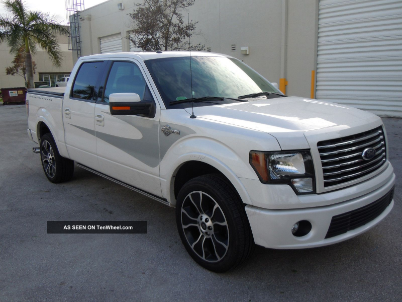 2012 Ford F - 150 4x4 6. 2l - Harley Davidson 600hp - Ready To Export ...