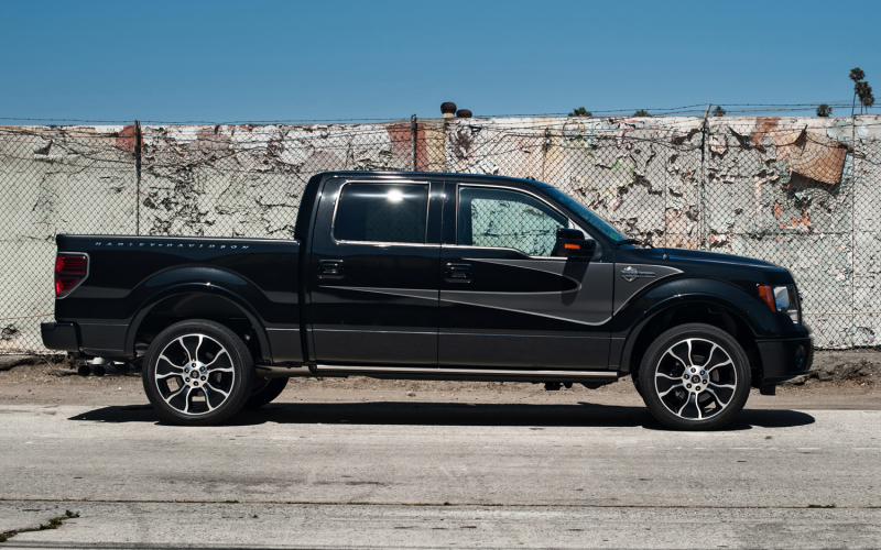 2012 Ford F-150 SuperCrew Harley-Davidson Edition Photo Gallery
