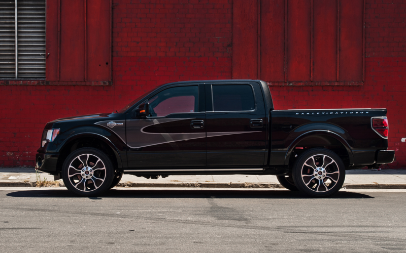 2012 Ford F-150 SuperCrew Harley-Davidson Edition First Test Photo ...