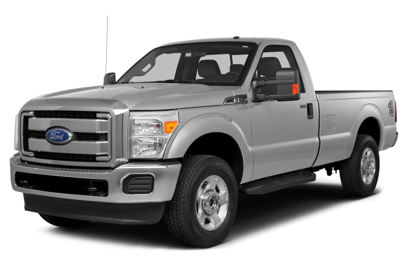 2015 Ford F 250 Truck XL 4x2 SD Regular Cab 8 ft. box 137 in. WB SRW ...