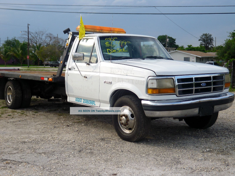 1993 Ford F 350 Flatbeds & Rollbacks photo 1