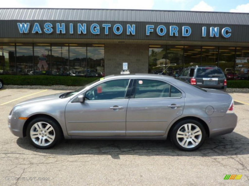 2007 Fusion SEL V6 AWD - Tungsten Grey Metallic / Charcoal Black photo ...