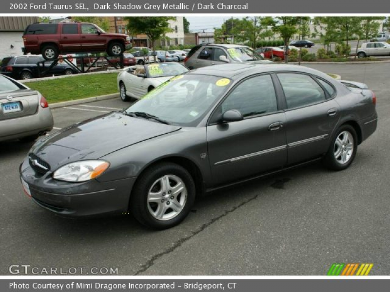 2002 Ford Taurus SEL in Dark Shadow Grey Metallic. Click to see large ...