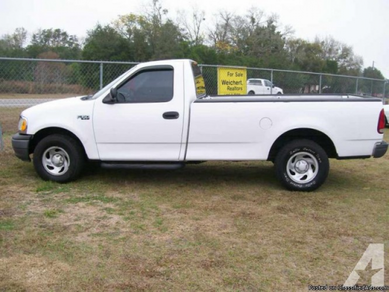 2002 Ford F-150 XL Long Bed Truck for sale in Brooksville, Florida