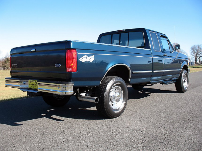 1997 Ford F250 Extended Cab Long Bed Diesel Truck