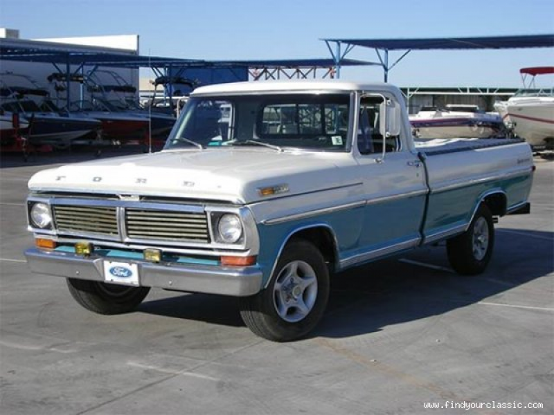 1970 Ford F100 Long Bed, Pickup