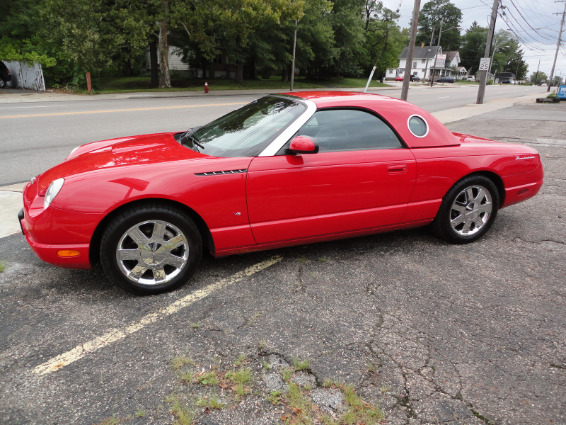 The 2003 Ford Thunderbird continues to impress right where the well ...