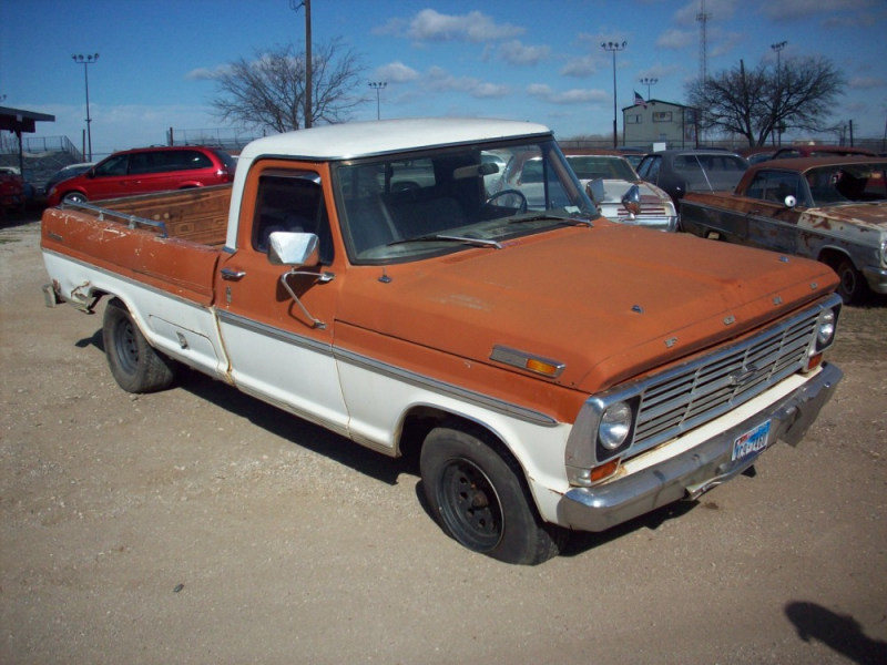 1971 Ford F-150 Sport Custom Pickup Parts Truck 1