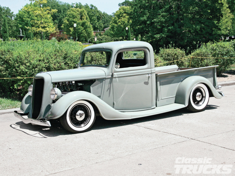 Kkoa Leadsled Spectacular 1936 Ford Pickup