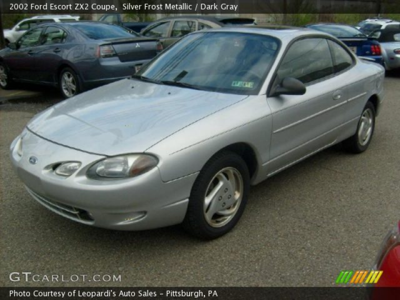 2002 Ford Escort ZX2 Coupe in Silver Frost Metallic. Click to see ...