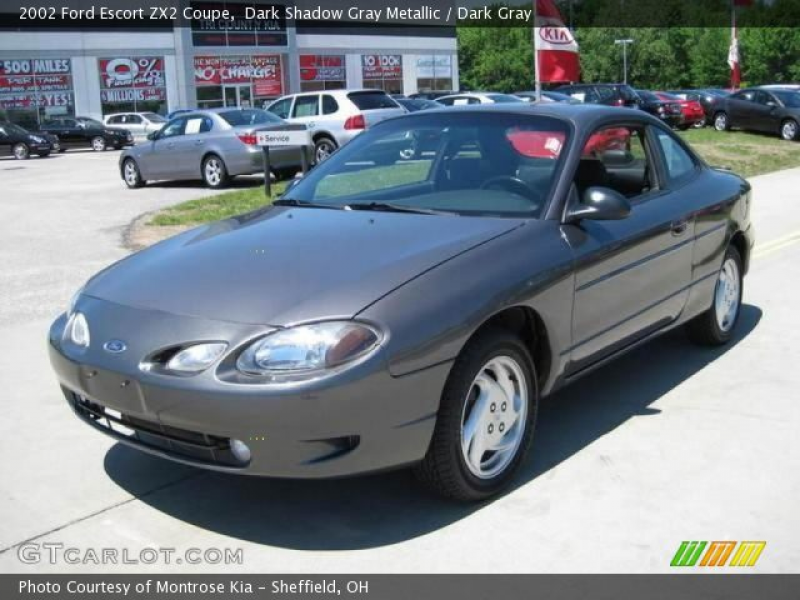 2002 Ford Escort ZX2 Coupe in Dark Shadow Gray Metallic. Click to see ...