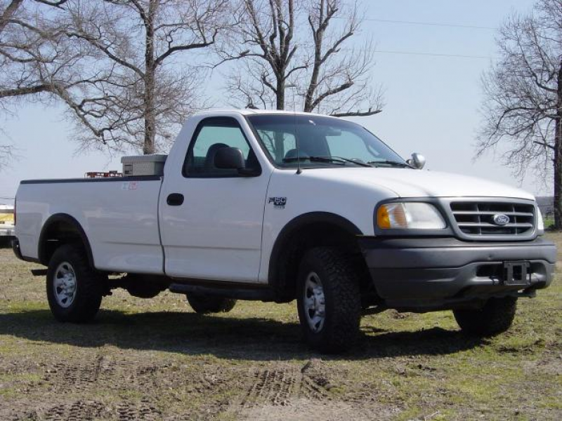 2001 Used Ford F150 Light Duty 1/2 Ton Truck For Sale in Arkansas