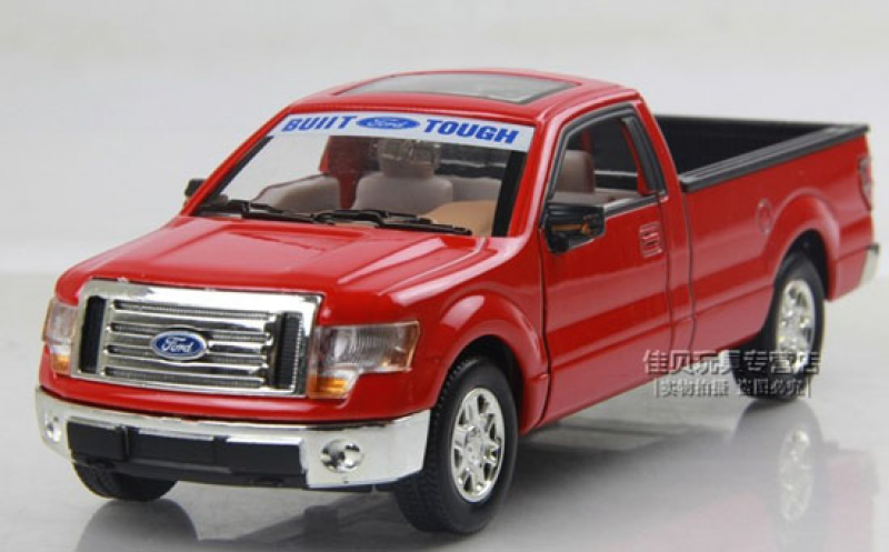 Kids Blue / Red / White / Silver Ford F150 Pickup Truck Toy