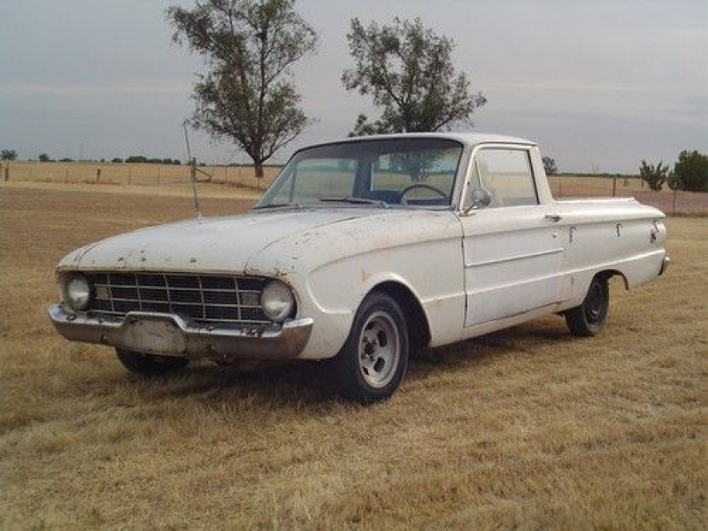 1960 Ford Falcon Ranchero Parts Or Project Car on 2040-cars