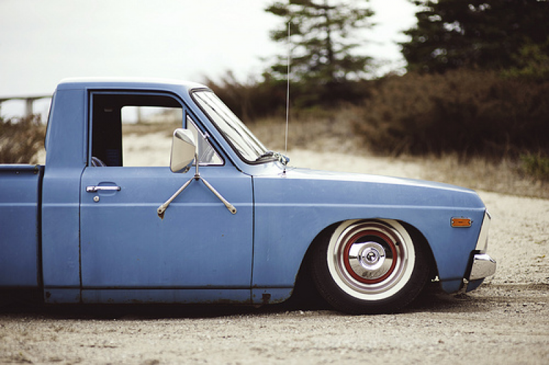 bagged ford courier | shoot