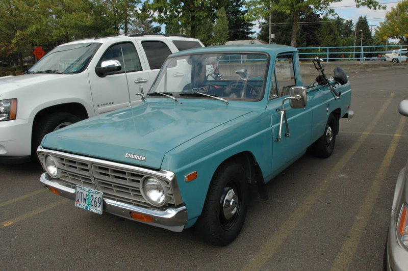 Ford Courier technical details, history, photos on Better Parts LTD