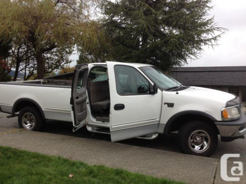 1998 FORD F-150, long box, super cab, 4WD, 3 door - $2800 (burnaby) in ...