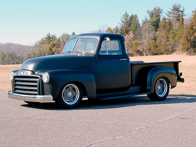 1948 Gmc Five Window Pickup Truck Side Body Shot