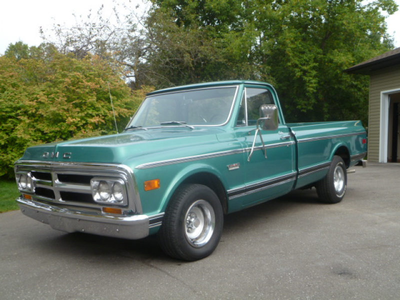 This classic 1970 GMC Pickup Truck is being kept in the collection as ...