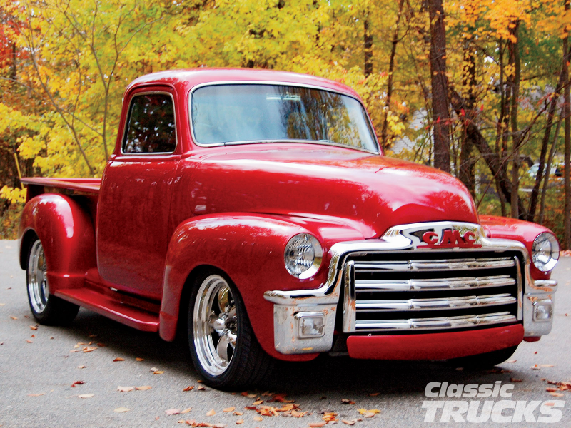 1955 Gmc Truck Front