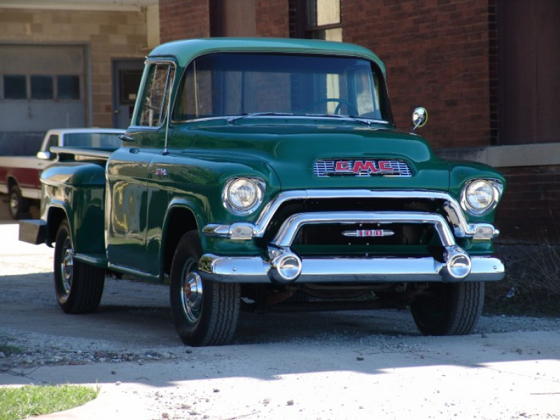 1956 GMC Model 100 1/2 ton pickup