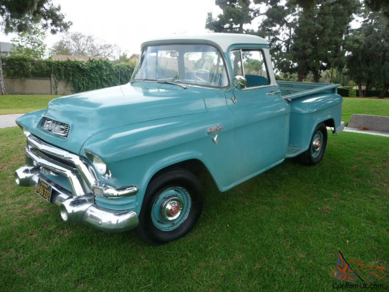 1956 GMC Big Window Truck all Stock for sale