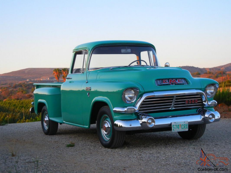 1957 GMC Deluxe Half Ton Pickup All Original for sale