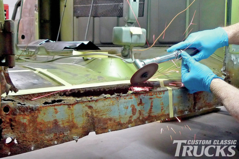 Rust Repair - 1971 GMC Truck: Part 2 Photo Gallery
