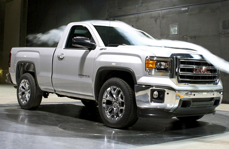 The all-new 2014 GMC Sierra Full-Size Pickup Truck