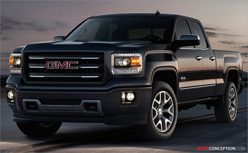Stateside: GMC Reveals New 2014 Sierra 1500 Pickup Truck Design