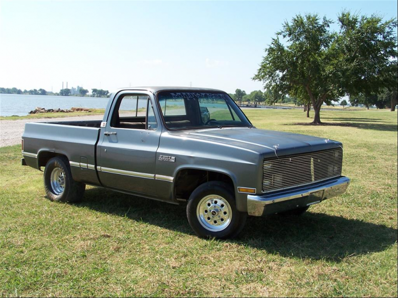 "1986 GMC Sierra 1500 Regular Cab ""ROTTEN TO THE CORE"" - Yukon, OK ..."