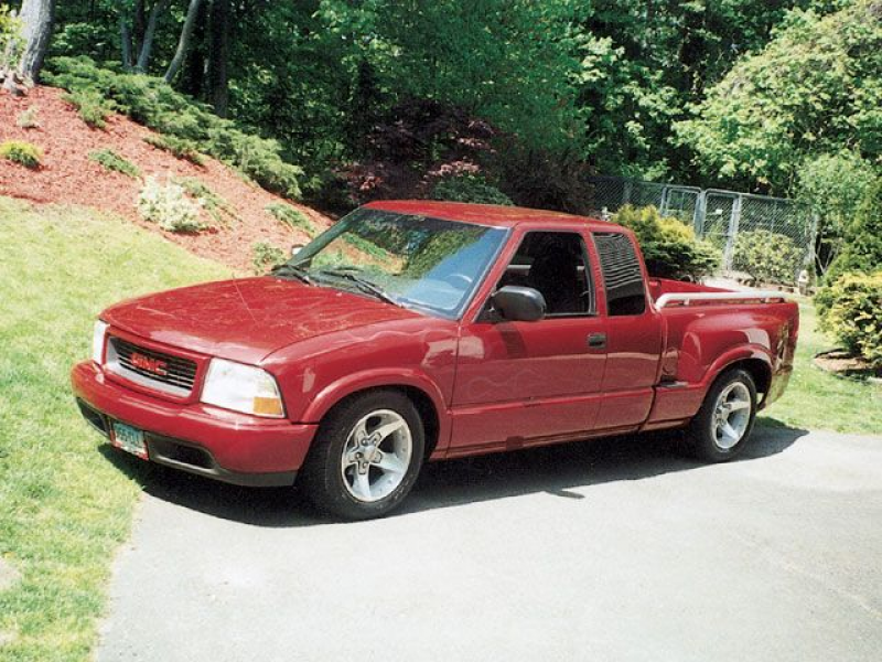 Custom Mini Trucks 2001 Gmc Sonoma