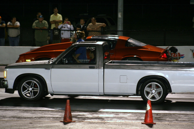 1990 GMC S15 Pickup SONOMA GT (CLONE) CPI (W) N/A 1/4 mile Drag Racing ...
