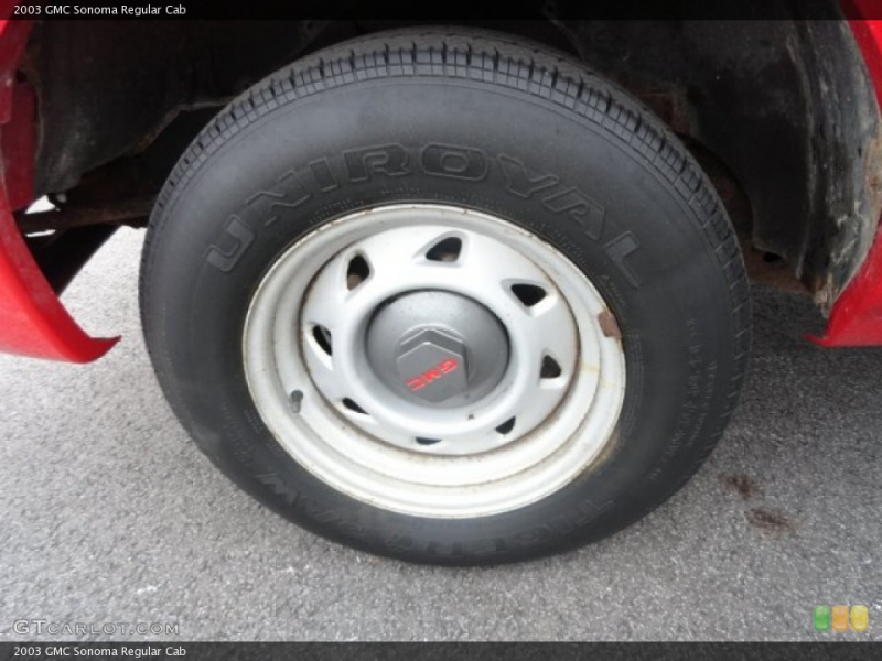 2003 GMC Sonoma Wheels and Tires