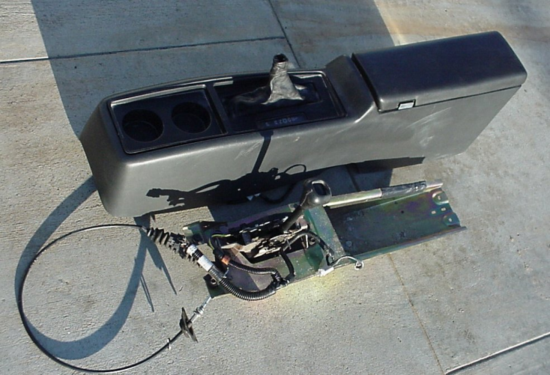 used GMC Typhoon center console.