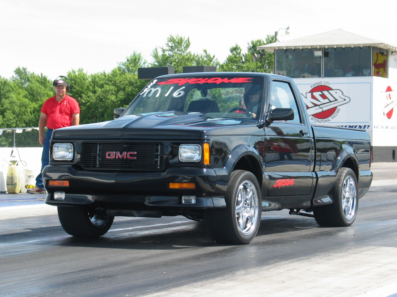1991 Gmc Syclone Launch At Track Jpg