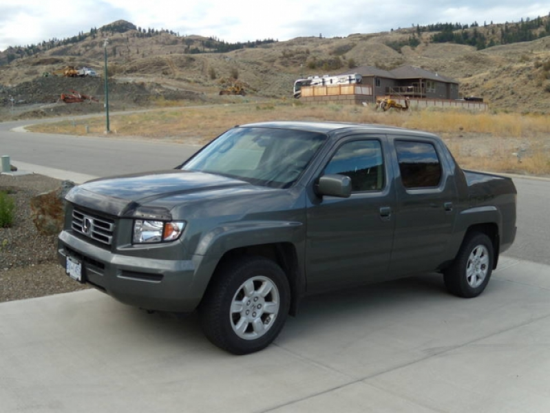 2007 Honda Ridgeline Leather Pickup Truck in Osoyoos, British Columbia