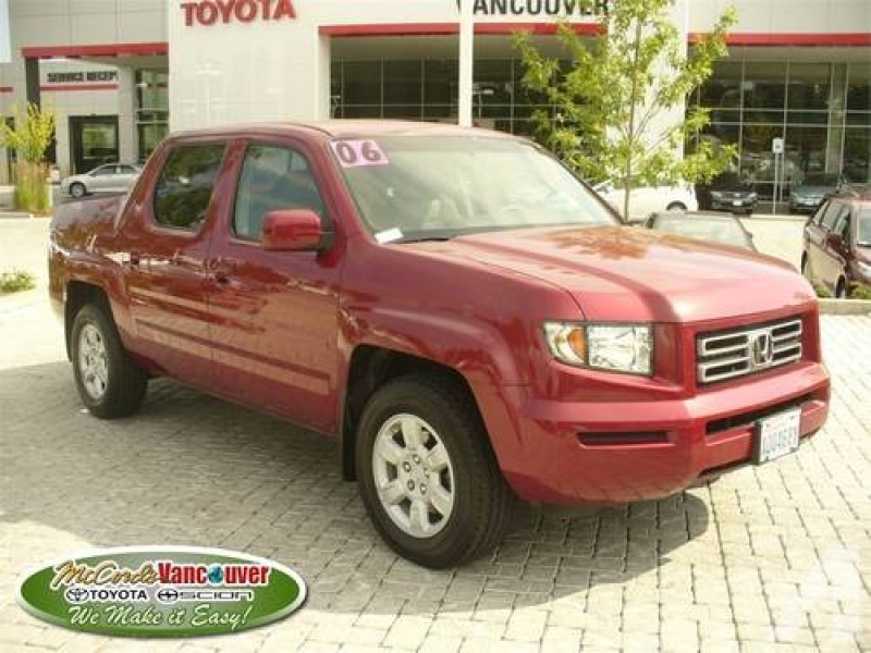 2006 HONDA Ridgeline Pickup Truck RTS AT for sale in Vancouver ...