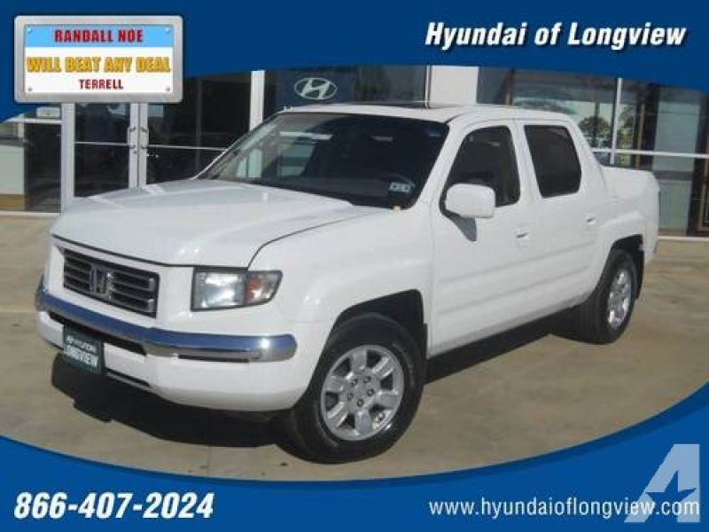 2006 HONDA Ridgeline Pickup Truck RTL AT with MOONROOF & NAVI for sale ...
